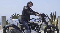 Keanu Reeves will build a $78,000 motorcycle just for you -Tearing up L.A. on the Arch Motorcycles KRGT-1