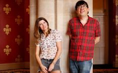 Sharon Horgan and Graham Linehan