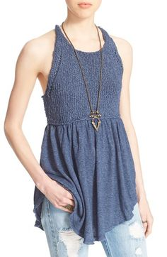 FREE PEOPLE 'Mountain View' Knit Tank. #freepeople #cloth #