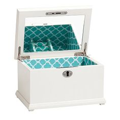 Teen Jewelry Box Fair Chloe Jewelry Box Pool Clover Large  Clovers Jewelry And Chloe Decorating Design