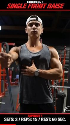 Big Biceps Workout, Back Workout Men, Chest Workout For Men, Abs And Cardio Workout, Gym Workout Videos, Gym Workout For Beginners, Resistance Workout, Chest Workouts, Shoulder Workouts For Men