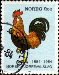 Stamp - Norway, 1984