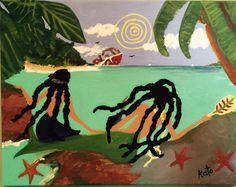 """Mermaids and Shipwreck"" by Kato Charles"
