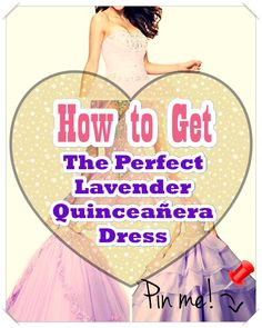 """Lavender Quinceanera dress - You are the """"belle of the ball, and all eyes are going to be on you, thus we've some suggestions to be able to select the most suitable Quinceanera dress for you. Lavender Quinceanera Dresses, All About Eyes, Different Patterns, Feminine, Shopping, Women, Women's, Woman"""