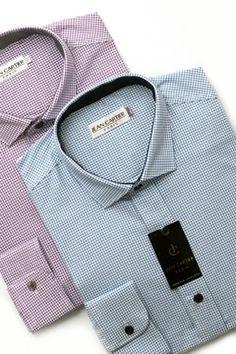 Camisa tela con relieve cuello italiano - Cod. 0013