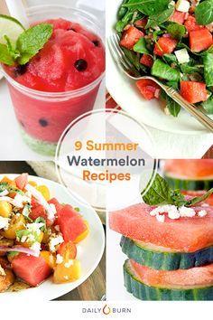 9 Delicious Watermelon Recipes for Summer