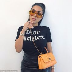Huda¿s sister Mona Kattan is her business partner and her social media manager is her sister Alya, much like the close-knit Kardashian clan Huda Kattan, Dior Addict, Stylish Girl, Huda Beauty, Fashion Addict, Business Women, Kim Kardashian, Cute Outfits, Fashion Outfits