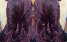 Cherry bombré is de nieuwste haartrend voor brunettes