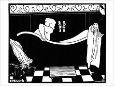 Le Bain - Vallotton / Affiche d'Art de la collection vintage de Slap Boutique : Le Grenier