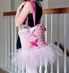 Tutu Ballet Tote Bag!