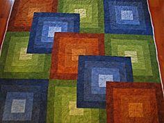 Dana's Modern Quilt  I love the Color blends!
