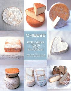 The Cheese Exploring Taste and Tradition book details how to source, store, taste, and serve a fascinating collection of cheeses with around 100 recipes.