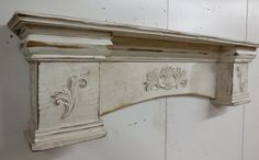 French Country Mantle Primitive Mantle by LynxCreekDesigns on Etsy French Country Bedrooms, French Country Decorating, French Decor, Primitive Mantels, Country Primitive, Country Style Homes, French Country Style, French Country Fireplace, Mantle Shelf