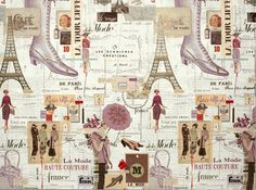 French Fashion luxury gift wrap