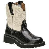My love for pink and Ariat Fat Baby boots together! I got married ...