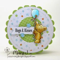 I've got yet another Lili of the Valley sneak peek of one of another adorable bear from the Happy Bear clear stamp sheet that is being ...