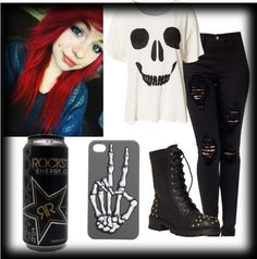"""""""Untitled #82"""" by monster-bunneh ❤ liked on Polyvore"""