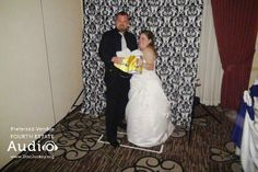 Katie and Chris Gustafson are genuine beer aficionados, and their wedding reception at D'Andrea Banquets in Crystal Lake showed it, with many creative touches. Wedding Dj, Wedding Reception, Dj Pro, Photo Booth Props, Chicago Wedding, That Look, Beer, Wedding Dresses, Hats