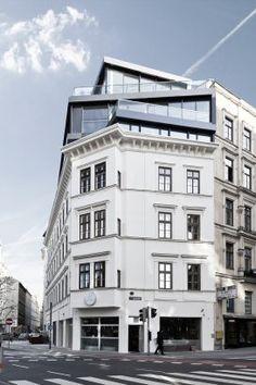 Renovation and heightening Margaretenstasse 9