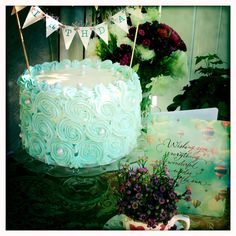 Birthday cake for Mom.