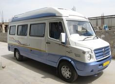 Hire 15 Seater Tempo Traveller Rent in Delhi - India Taxi Online