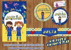 Kit Festa Chiquititas Para Imprimir