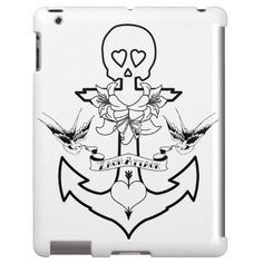 Zach Attack Designs Old Anchor Ipad Case