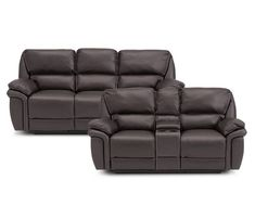 Chaz 2 Pc Power Reclining Sofa Set