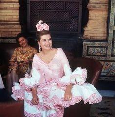 grace&family:  Princess Grace, Seville, Spain, April 1966
