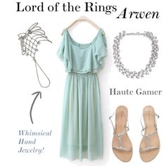 """Lord of the Rings Arwen"" by hautegamer on Polyvore"