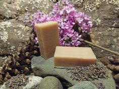 3oz. Bar of Lavender All Natural Soap unboxed by MaineMountain, $3.95