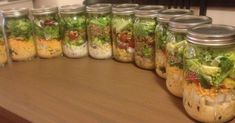 What's the deal with the salad in a jar? Do they really keep in the firdge for a whole week? How much do they cost to make? Is it a pain to prep the ingredients?  She tested them out to find out.