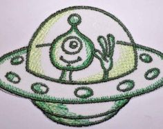 Iron-On Patch - ALIEN