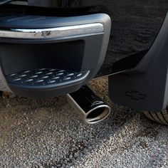 Cat Back Exhaust With Chrome Tips  Chevy Silverado