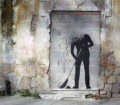 18 Creative Street Art Paintings By Pejac » Design You Trust. Design, Culture & Society.