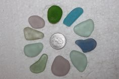 AWESOME BEACH GLASS Top drilled Pendent or by BEACHGLASSSWEPTASHOR, $14.00