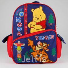 Jelfis.com - 16' Large Disney Winnie the Pooh Backpack - Trail Adventure Tigger Boys Book Bag, $17.99 (http://www.jelfis.com/16-large-disney-winnie-the-pooh-backpack-trail-adventure-tigger-boys-book-bag/)