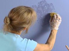Pintar com esponja