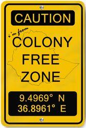 Colony Free Zone designer: Dagi Berhane