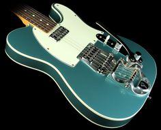 Fender Made in Japan '62 Telecaster Custom Ocean #Turquoise Metallic. Drool!