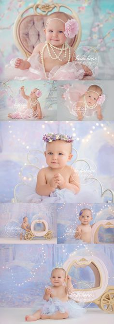 Miss K's Ballerina and Princess Studio Shoot!