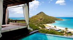 Hermitage Bay in Saint John, Antigua And Barbuda