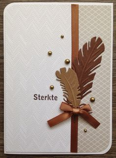 LindaCrea: Veertjes #1 - Sterkte Company Christmas Cards, Christmas Cards To Make, Feather Cards, Embossed Cards, Square Card, Marianne Design, Some Cards, Unique Cards, Fall Cards