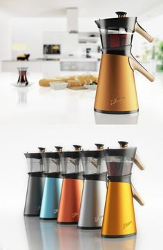 Steam Tea Maker   design by Hakan Gürsu