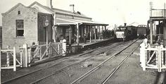 Maitland Railway Station in 1877.