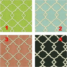 FRETWORK - Lampshade Fabric Collection - 4 Colors - Lampshade - Bathroom Decor - Vanity Lighting - Light Cover - Wall Mount