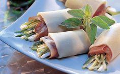 Mozzarella-Röllchen | Rezepte | annabelle
