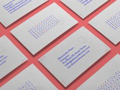 Business Cards by Alessandro Risso