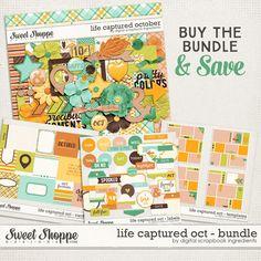 Life Captured October Bundle by Digital Scrapbook Ingredients