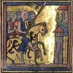[1179] - Boémond et Raymond]. Les deux nobles hommes voyant que leur arrivée dans le royaume excitait les craintes du seigneur Roi Baudouin IV et des siens, repartirent pour leurs États, après avoir, selon la règle, terminé leurs prières.